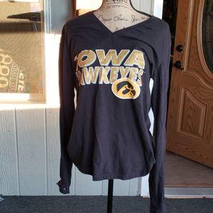 Hawkeye black long sleeve tshirt